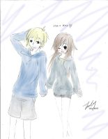 Lisa and Alex by Imouto-Thi
