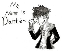 My name Is Dante by Silent-DownPour