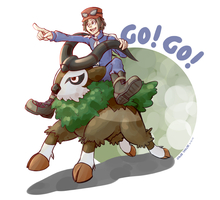 Go! Go! by KingdomBlade