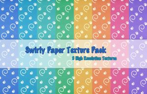Swirly Paper Texture Pack by powerpuffjazz