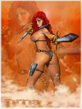 red sonja 3 by TIRRIA7