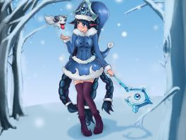 Winter Wonder Lulu by NightGreenMagician