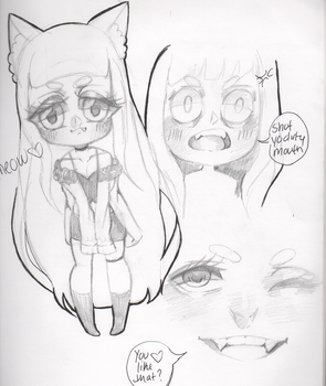 Doodles by gothica413