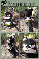 Pantherlily Plush by Snuckledrops