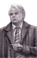A Most Wanted Man - Philip Seymour Hoffman by RodgerHodger