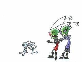 ZIM vs TAK by istarwyn