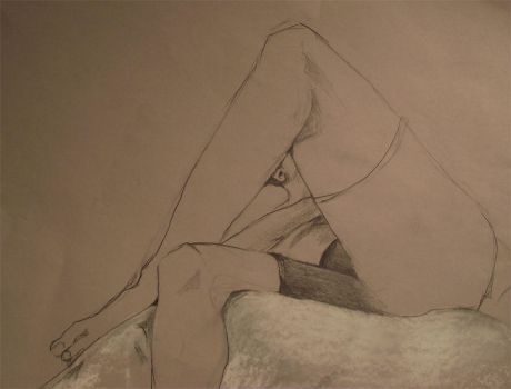 figure drawing by abstrxct