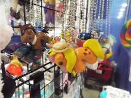 (MLP)Kawaii Custom MLP Charms at Supercon by KrazyKari