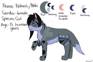 [Reference-Sheet] Naheel NEW by FreezingLeav