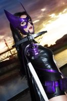 Huntress - Birds of Prey by Lie-chee