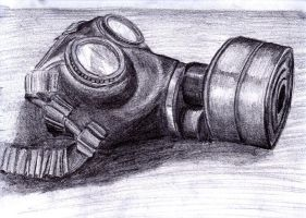 Gas Mask by RED-SCOTCH