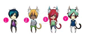 Adoptables Collab~ Cheap and OPEN by grimoireadopts