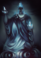 Hades (Disney) God of the Underworld by StargazerArts