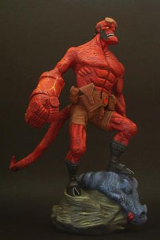 Angry Hellboy by figuralia