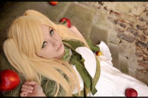 Nyotalia England - Lying here... by Nazu-chan
