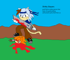 Jonic shitty slayer by Jonicthedgehog