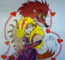 Psycho x Amy by 932-2063