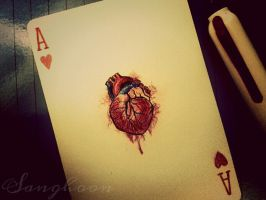 a real ace of hearts by jilgoksh
