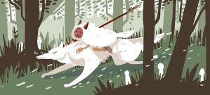 Princess Mononoke by MadCheshCat