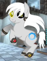 MLP - GLaDOS by DreamingLionesse