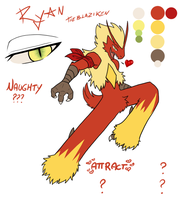 NPC - Ryan the Blaziken by ChibiCorporation