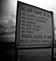 Beach rules by ksouth