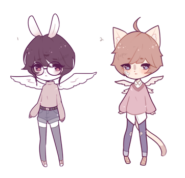 soft angels [closed - auction] by bbao