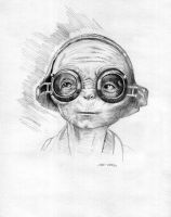 Maz Kanata Star Wars Drawing by Stungeon