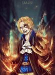 Sabo on Fire by Yahik0