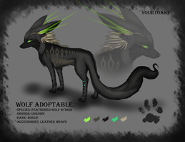 WOLF HYBRID ADOPTABLE [SOLD] by Yourtoast