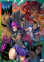 Anime Action by AdrianoMediano