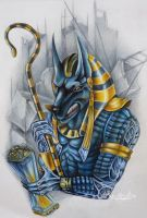 Anubis by MarinaAlex