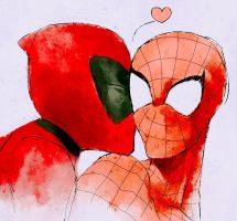 spideypool by ymyukari