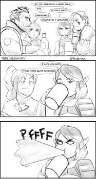 Paladins - Pun Dating by feralknights