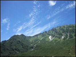Green Mountain in the Sky by AntiRetrovirus