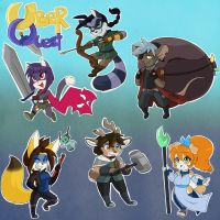 UberQuest Chibis! by UberQuest