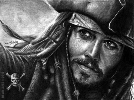 Jack Sparrow by DaveLopes