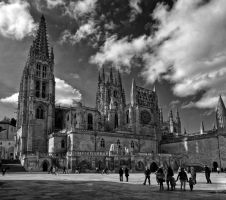 Cathedral of Burgos by rhipster