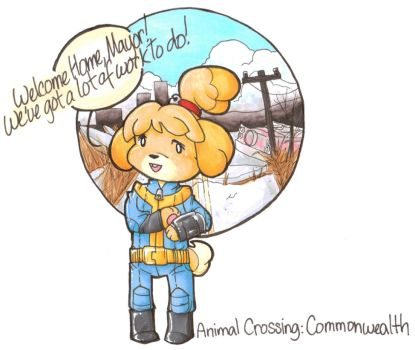 Isabelle to the rescue! by Desi-Designs