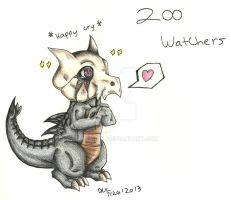 200 watchers Thank you! by Miss-DNL