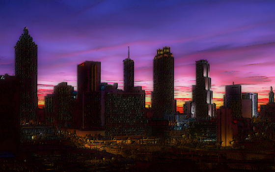 skyline by GhostRunner