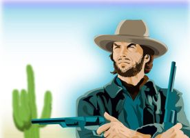 eastwood      clint eastwood by JaZaDesign