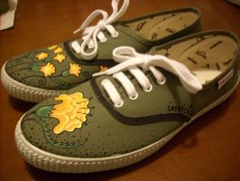 Shoes - Wild Flowers by invictas-shoes