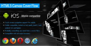 HTML5 Canvas Cover Flow by flashdo