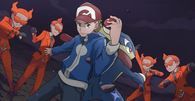 COMMISSION: Versus Team Flare by mark331