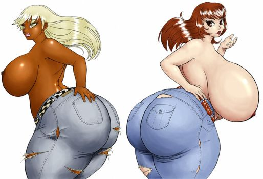 Luanna and Jussara in Jeans by eucalipto