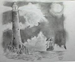 Day 2 - Lighthouse by oodell