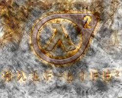 Half-Life 2 Grunge Wallpaper 1 by Teri928