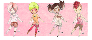 Supposed To Be Candy Sob Adopts [CLOSED] by Kunamei