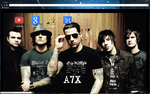 Avenged Sevenfold Theme by bandchromethemes